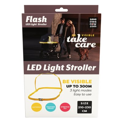 Save Lives Now Flash LED Light Stroller