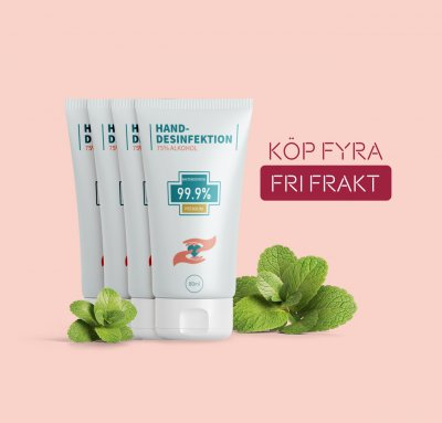 Handdesinfektion - 80 ml