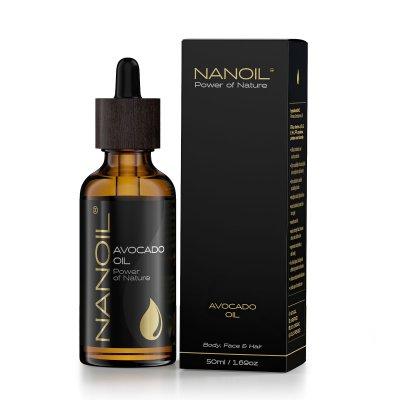 Avocado Oil 50 ml - Kasvoille, vartalolle ja hiuksille